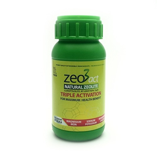 Zeo3act-H Pure Natural Ultra fine Zeolite 80 Capsules