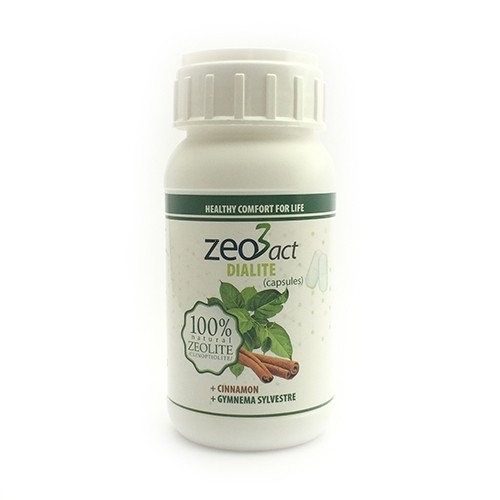 Zeo3act-D Dialite Ultrafine Zeolite 80 Capsules