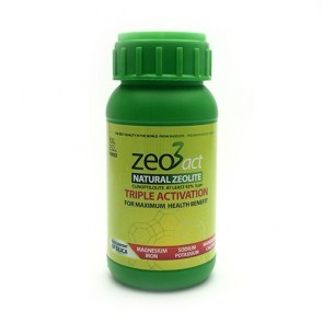Zeo3act-H Pure Natural Ultra fine Zeolite Powder 100g