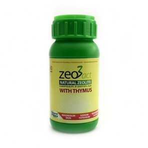 Zeo3act-T Ultra fine Zeolite + Thymus 80 Capsules